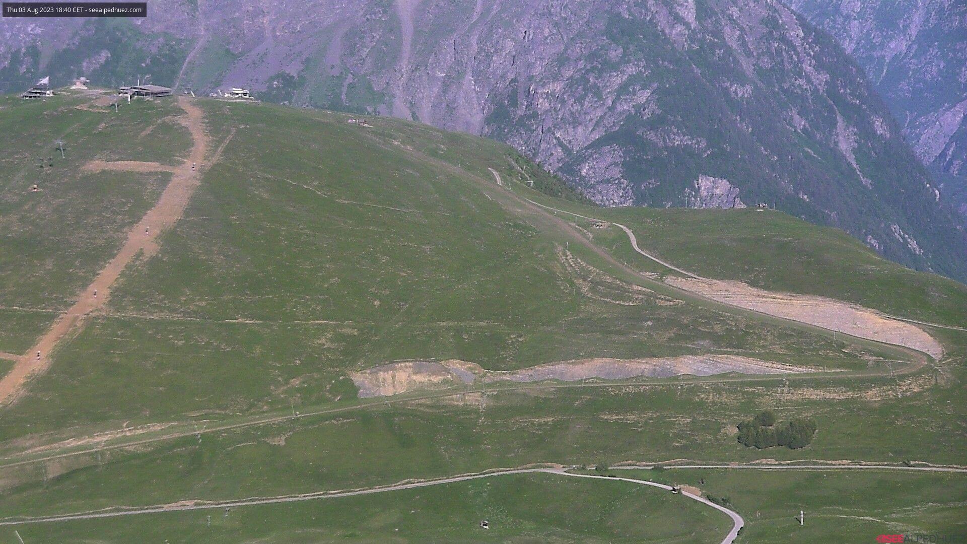 Alpe d Huez Snowcam image